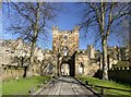 NZ2742 : The entrance to Durham Castle by Graham Hogg