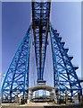 NZ4921 : Tees Transporter Bridge by Graham Hogg