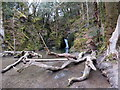 SN2338 : Sgwt Ffynhonnau / Ffynhonnau Waterfall by Alan Richards