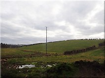 J1326 : Powerlines north of Derryleckagh Lake by Eric Jones