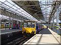 SD3317 : Chapel Street station - platform 5 by Stephen Craven