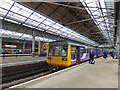 SD3317 : Chapel Street station -  arrival from Manchester by Stephen Craven