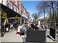 SD3317 : Cafes on Lord Street, Southport  by Stephen Craven
