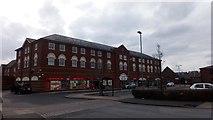 SP2663 : Shopping Arcade, Chase Meadow, Warwick by Stuart Shepherd