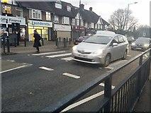 TQ2087 : Zebra crossing on Church Lane, Kingsbury by David Howard