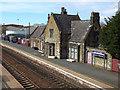 SD4412 : Burscough Bridge station - old buildings by Stephen Craven