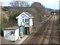 SD4412 : Burscough Bridge Junction signal box by Stephen Craven