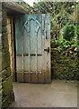 ST7475 : Door in wall, Dyrham Park by Derek Harper