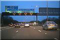 TQ0378 : Slough : M4 Motorway by Lewis Clarke