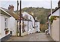 SS5546 : Pit Hill in the picturesque village of Berrynarbor, Devon by Derek Voller