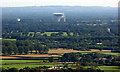 SJ7971 : Jodrell Bank from the air by Thomas Nugent