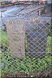 SX4755 : Plymouth Military Boundary Stones, Saltash Rd by N Chadwick