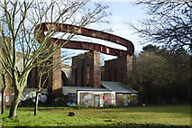 SX4755 : Steel art, Victoria Park by N Chadwick