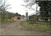 TL9892 : Shropham Grove Farm by David Howard