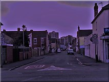 SU1584 : Central Swindon from County Road by Chris Brown