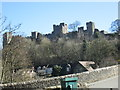 SO5074 : Ludlow Castle Landscape by Fabian Musto