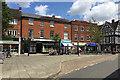 SP2864 : Café society, Market Place, Warwick by Robin Stott