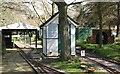 TG2007 : Eaton Park's miniature railway - the signal box by Evelyn Simak