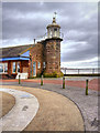 SD4264 : Lighthouse and Former Railway Terminus, Morecambe Stone Jetty by David Dixon