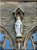 SD3347 : St Mary's statue by Gerald England