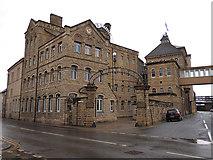 SE4843 : Centre Lane entrance to John Smith's Brewery by Stephen Craven