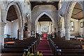 SK7790 : Interior, All Saints' church, Beckingham by Julian P Guffogg