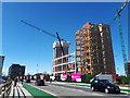 SE2933 : Wellington Place, Leeds (5) - still under construction by Stephen Craven