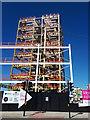 SE2933 : Wellington Place, Leeds (6) - steel framed construction by Stephen Craven