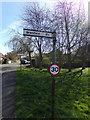 TM3674 : Signpost  on Peasenhall Road by Geographer