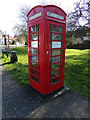 TM3674 : Disused Telephone Box on Peasenhall Road by Adrian Cable