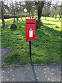 TM3674 : Walpole Green Postbox by Adrian Cable