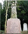 TG2108 : Monument of the Sultzer family by Evelyn Simak