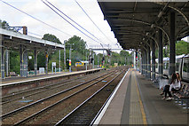 TM1543 : The north end of Ipswich Station by John Sutton