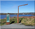 C0931 : Wild Atlantic Way sign, Doe Castle View by Rossographer