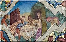 SK7288 : The Deposition, Mural, St Peter's church, Clayworth by Julian P Guffogg