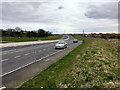 SD4663 : Layby on the eastbound A683 (Bay Gateway) by David Dixon