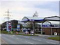 SD4562 : Gulf Petrol Station at Salt Ayre by David Dixon