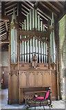 SK7288 : Organ, St Peter's church, Clayworth by Julian P Guffogg