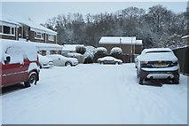 TQ5841 : Snow, St Michael's Rd by N Chadwick