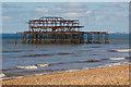 TQ3003 : West Pier, Brighton by Oliver Mills