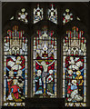 SK7887 : East window, St Martin's church, Saundby by Julian P Guffogg