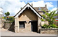 ST8287 : The Old Village Lock-Up, The Street, Didmarton, Gloucestershire 2014 by Ray Bird