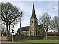 SJ8146 : St Luke's Church, Silverdale by Jonathan Hutchins
