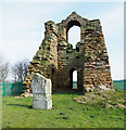 NZ3742 : Ruin of Haswell pumping engine building by Trevor Littlewood