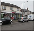 ST3099 : Spar and Post Office, New Inn by Jaggery