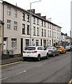 ST3099 : Row of three storey houses, New Inn by Jaggery