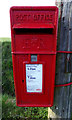 TM3575 : Cookley Corner Postbox by Adrian Cable