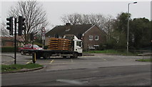 ST3091 : Munson lorry, Malpas Road, Newport by Jaggery