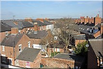 SJ4066 : View from St Martin's Way, Chester by Jeff Buck