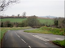 J2333 : The Ballynagappoge Road junction on the A25 by Eric Jones